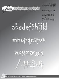 Cutting & Embossing Dies Alphabet Lowercase