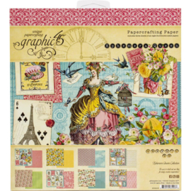 "Ephemera Queen Paper Pad 8""X8"""