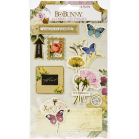 Botanical Journal Adhesive Layered Chipboard