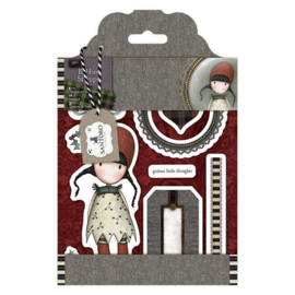 Gorjuss Rubber Stamps Holly