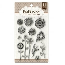 Clear Stamps Doodle Blooms