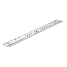 Stainless Steel Ruler 30 cm