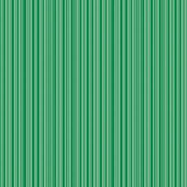 Patterned single-sided d.green stripe