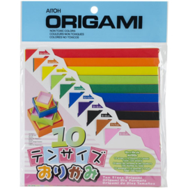 Origami Paper Assorted Colors & Sizes