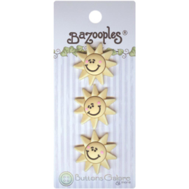 BaZooples Buttons Sun