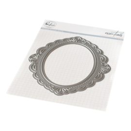 Essentials Die Ornate Oval Frame Essentials Die
