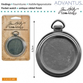 Pocket watch antique nickel