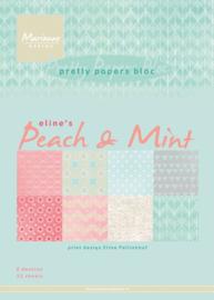 PB7047 Eline's peach & mint