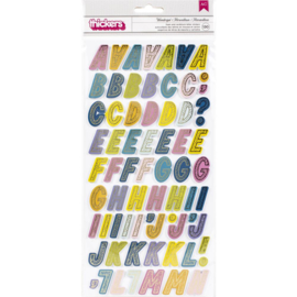 Wonders Thickers Stickers Wonderful Alphabet