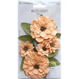 Majestic Bouquet Paper Flowers Mango
