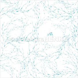 Under The Water Design Paper Fish & Algae