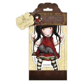 Gorjuss Large Rubber Stamp - Ruby