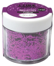 Izink Glitter Pot Fuchsia 15gr.