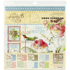 "Bird Watcher Collection Pack 12""X12"""