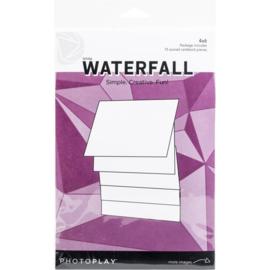 "Maker Series 4""X6"" Manual White Waterfall"