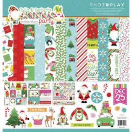 """Tulla & Norbert's Christmas Party Collection Pack 12""""X12"""""""
