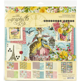"Ephemera Queen Collection Pack 12""X12"""