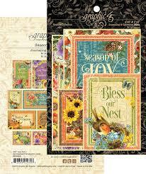 Seasons Journaling & Ephemera Cards