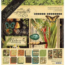 """Natures Notbook Deluxe Collector's Edition Pack 12""""X12"""""""