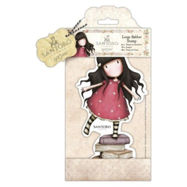 Gorjuss Large Rubber Stamp - New Heights