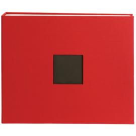 "D-Ring Cloth Album Window Cardinal 12""X12"""