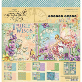 "Fairie Wings Collection Pack 12""X12"""