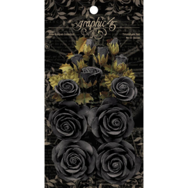 Rose Bouquet Collection Photogenic Black