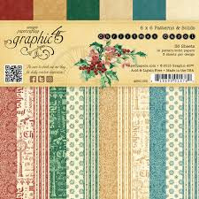 A Christmas Carol Patterns & Solids 6x6 Inch