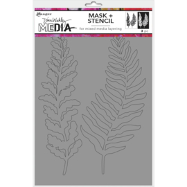 Stencils + Masks Curly Frond