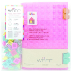 WAFF Creative Journal Kit A5 Glitter Pink