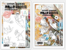 Die #003 And Stamp #214