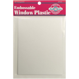 Embossable Window Plastic Sheets Clear