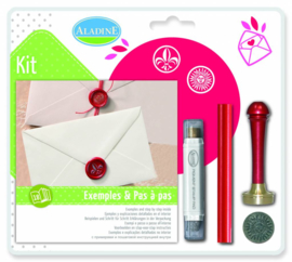 Metal Seal Kit Fleur de Lys - Classic Su
