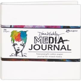 "Dina Wakley Media White Journal 6""X6"""