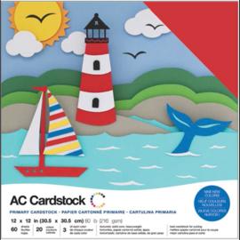 Variety Cardstock Pack Primaries