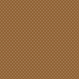 "Patterned single-sided 12x12"" brown l.dot"
