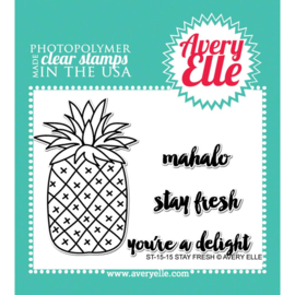 "Clear Stamp Set Stay Fresh  4""X3"""