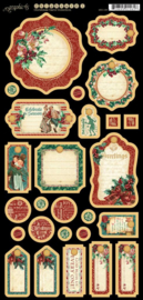 A Christmas Carol Decorative Chipboard 1