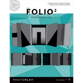 """Folio 6""""X8"""" Black"""