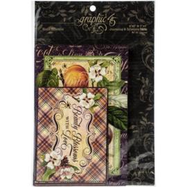 Fruit & Flora Ephemera Cards