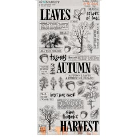 Vintage Artistry In The Leaves Washi Tape