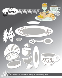 Cutting & Embossing Dies Breakfast Table