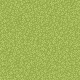 Patterned single-sided l.green flower