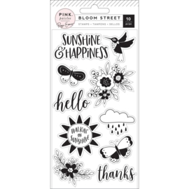 Bloom Street Clear Acrylic Stamps
