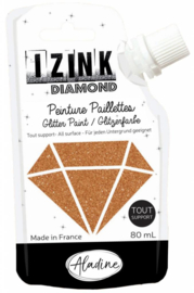 Izink Diamond Glitter Paint Copper