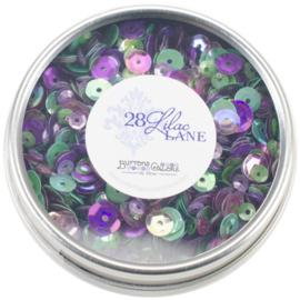 Sequins Violet Blossom