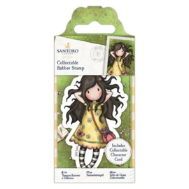 Gorjuss Collectable Rubber Stamp Spring At Last