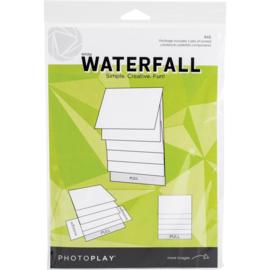 "Maker Series 4""X6"" Mechanical White Waterfall"