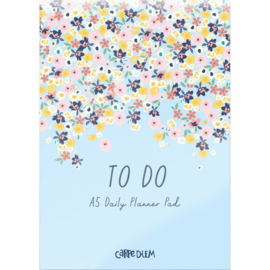 Ditsy Floral Daily Planner Pad A5