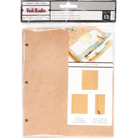 Junque Journal Refills Kraft Paper, 3 Styles
